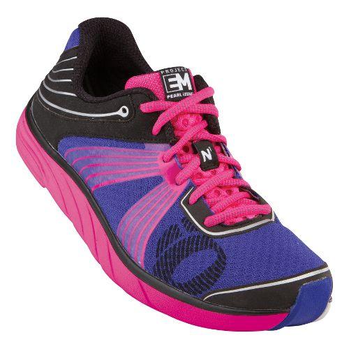 Womens Pearl Izumi EM Road N 1 Running Shoe - Dazzling Blue/Black 7.5