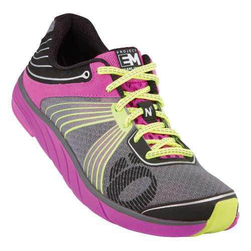 Womens Pearl Izumi EM Road N 1 Running Shoe - Grey/Purple 9.5