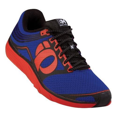 Mens Pearl Izumi EM Road N 2 Running Shoe - Black/Blue 8.5