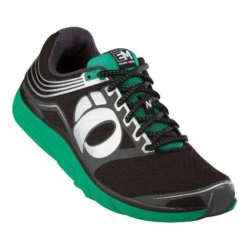Mens Pearl Izumi EM Road N 2 Running Shoe - Black/Shadow Grey 12