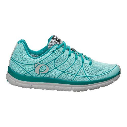 Womens Pearl Izumi EM Road N 2 Running Shoe - Aruba Blue/Peacock 7.5