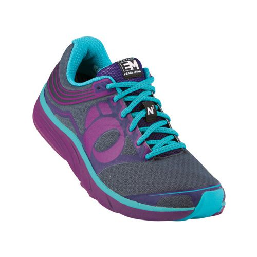 Womens Pearl Izumi Em Road N 2 Running Shoe - Orchid/Blackberry 7.5