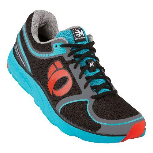 Mens Pearl Izumi EM Road M 3 Running Shoe - Black/Grey 8.5