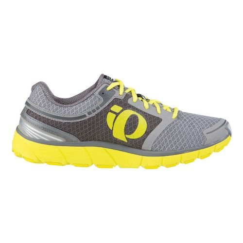 Mens Pearl Izumi EM Road M 3 Running Shoe - Light Grey/Grey 10