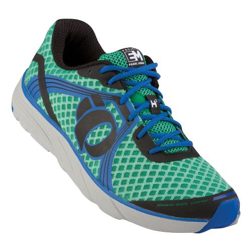 Mens Pearl Izumi EM Road H 3 Running Shoe - Green/Black 10