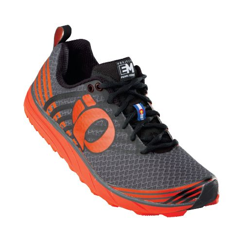 Mens Pearl Izumi EM Trail N 1 Trail Running Shoe - Cherry Tomato/Shadow 12