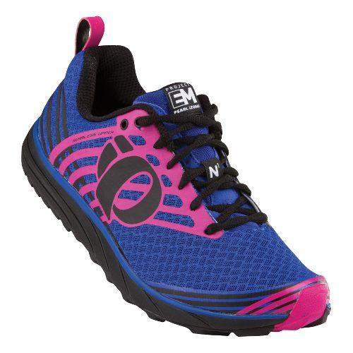 Womens Pearl Izumi EM Trail N 1 Trail Running Shoe - Dazzling Blue/Black 6.5