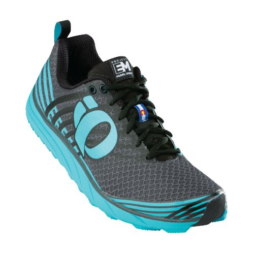 Womens Pearl Izumi EM Trail N 1 Trail Running Shoe - Scuba Blue/Shadow Grey 8 ...