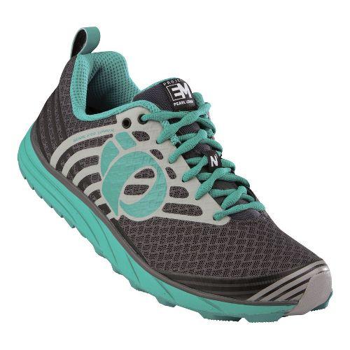 Womens Pearl Izumi EM Trail N 1 Trail Running Shoe - Shadow Grey/Black 11