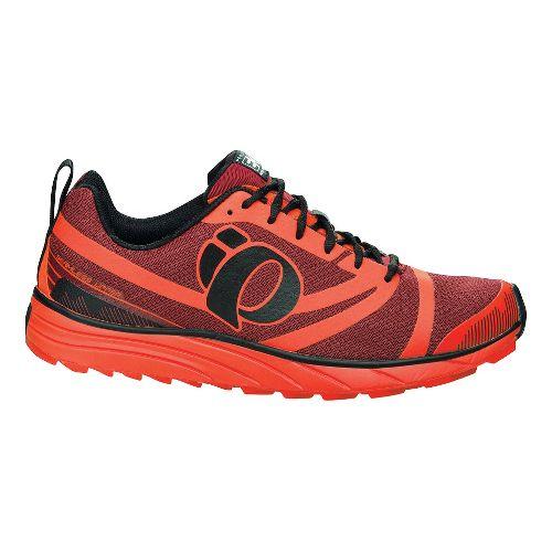 Mens Pearl Izumi EM Trail N 2 Trail Running Shoe - Mandarin Red/Black 7