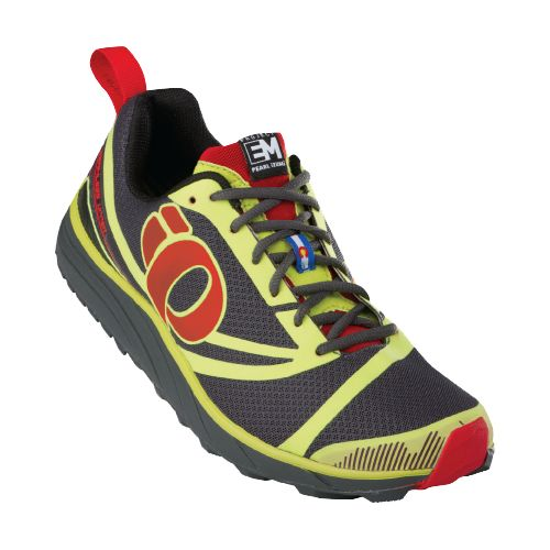 Mens Pearl Izumi EM Trail N 2 Trail Running Shoe - Lime/Shadow 10.5
