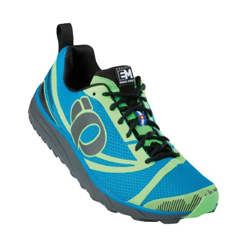 Mens Pearl Izumi EM Trail N 2 Trail Running Shoe - Mandarin Red/Black 12.5
