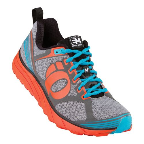 Mens Pearl Izumi EM Trail M 2 Trail Running Shoe - Black/Grey 7