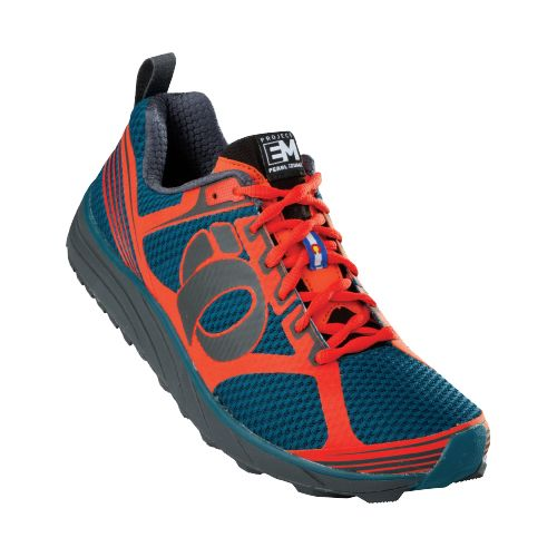 Mens Pearl Izumi EM Trail M 2 Trail Running Shoe - Cherry Tomato/Shadow Grey 12.5 ...