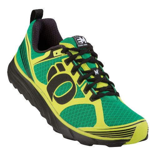 Mens Pearl Izumi EM Trail M 2 Trail Running Shoe - Jelly Bean/Black 12.5