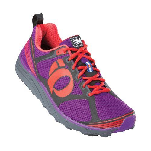 Womens Pearl Izumi EM Trail M 2 Trail Running Shoe - Shadow Grey/Black 8.5