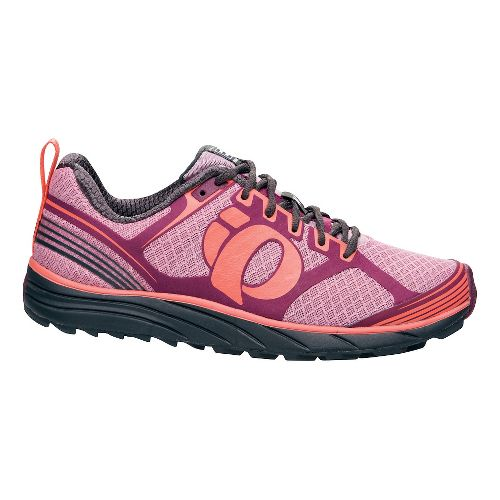 Womens Pearl Izumi EM Trail M 2 Trail Running Shoe - Dazzling Blue/White 10
