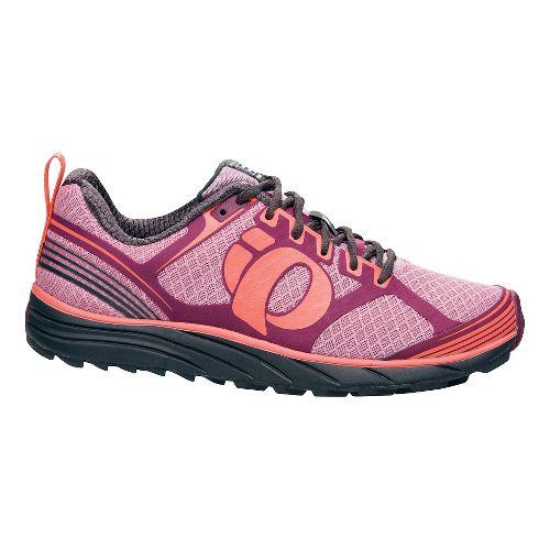 Womens Pearl Izumi EM Trail M 2 Trail Running Shoe - Dazzling Blue/White 6.5