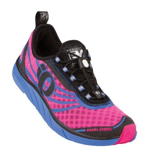 Womens Pearl Izumi EM Tri N 1 Racing Shoe - Dazzling Blue/Black 5.5