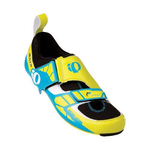 Mens Pearl Izumi P.R.O. Series Tri Fly IV Carbon Cycling Shoe - Screaming Yellow/Black 39.5 ...