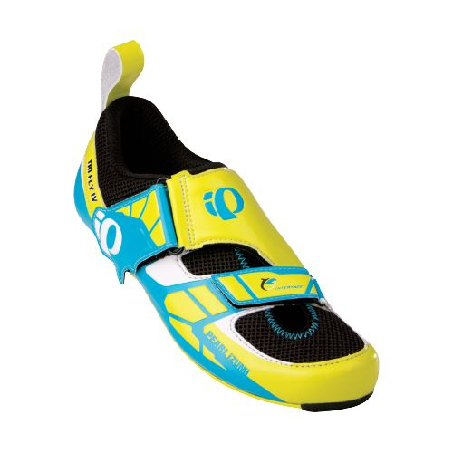 Mens Pearl Izumi P.R.O. Series Tri Fly IV Carbon Cycling Shoe - Screaming Yellow/Black 40.5 ...