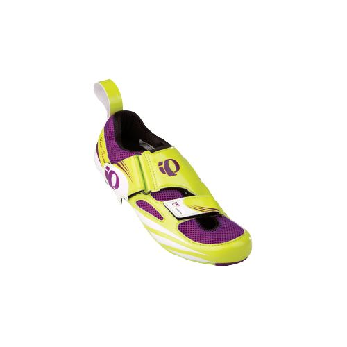 Womens Pearl Izumi P.R.O Series Tri Fly IV Carbon Cross Training Shoe - Lime/Orchid 37.5 ...