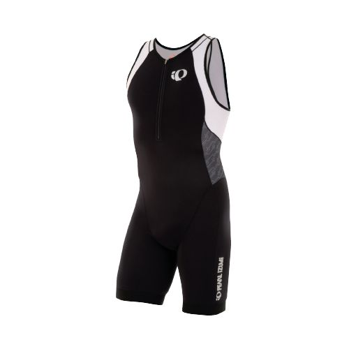 Mens Pearl Izumi ELITE In-R-Cool Tri UniSuits - Black/Black Turnout S