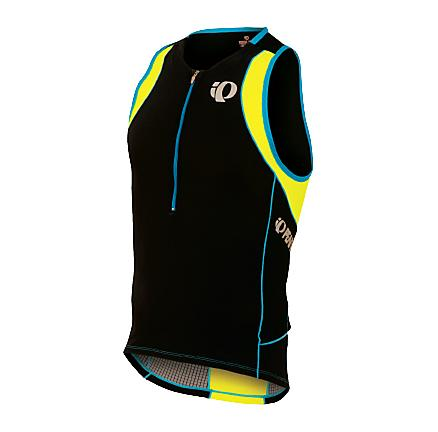 Mens Pearl Izumi ELITE In-R-Cool Tri Singlet Technical Tops