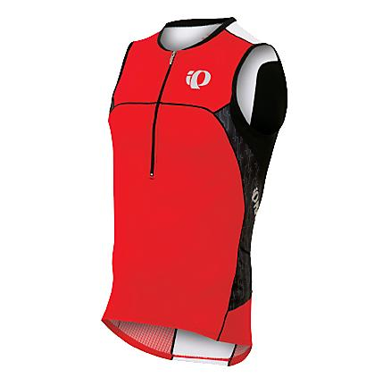 Mens Pearl Izumi ELITE In-R-Cool Tri SL Jersey Sleeveless Technical Tops