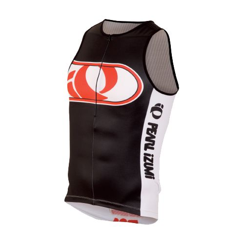 Mens Pearl Izumi ELITE In-R-Cool LTD Tri Singlets Technical Tops - Big IP Black M ...