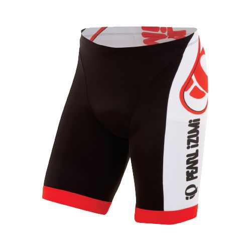Mens Pearl Izumi ELITE In-R-Cool LTD Tri Fitted Shorts - Big IP Black M