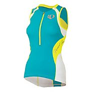 Womens Pearl Izumi Elite In-R-Cool Tri SL Jersey Sleeveless Technical Tops