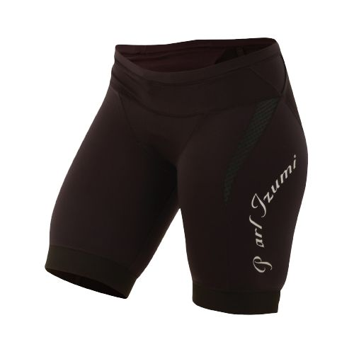 Womens Pearl Izumi Elite In-R-Cool Tri Short Fitted Shorts - Black XS