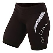 Womens Pearl Izumi Elite In-R-Cool Tri Short Fitted Shorts