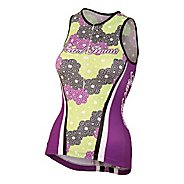 Womens Pearl Izumi Elite In-R-Cool LTD Tri Singlets Technical Tops
