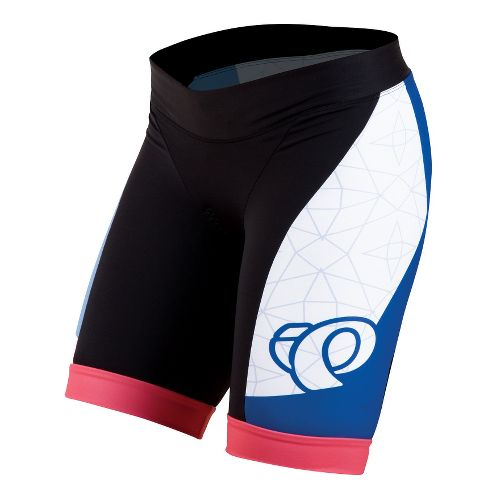 Womens Pearl Izumi Elite In-R-Cool LTD Tri Fitted Shorts - Team Pearl Izumi S
