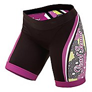 Womens Pearl Izumi Elite In-R-Cool LTD Tri Short Fitted Shorts