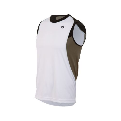 Mens Pearl Izumi Ultra Inside-Out Singlet Technical Tops - White XXL