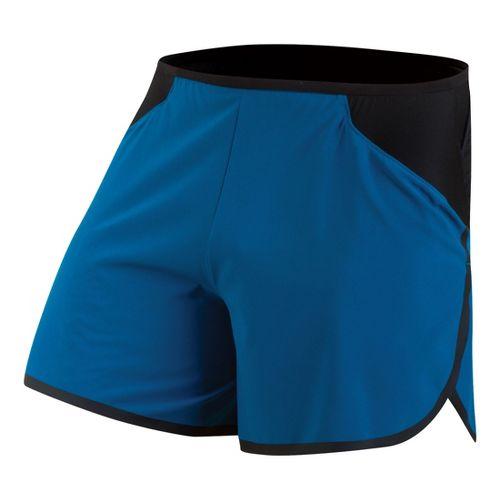 Mens Pearl Izumi Ultra Splits Shorts - Mykonos Blue L
