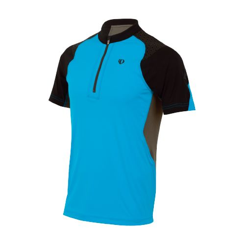 Mens Pearl Izumi Ultra Inside-Out Zip Short Sleeve Technical Tops - Electric Blue XL