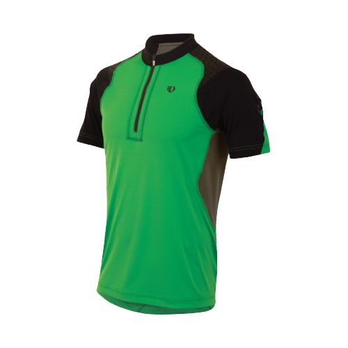 Mens Pearl Izumi Ultra Inside-Out Zip Short Sleeve Technical Tops - Fairway L