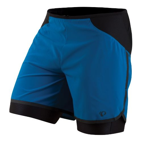Mens Pearl Izumi Ultra 2-in-1 Shorts - Mykonos Blue M