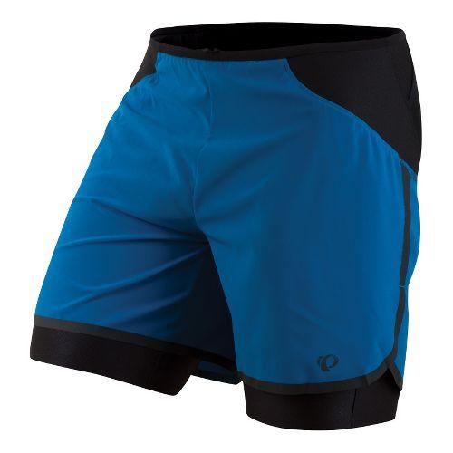 Mens Pearl Izumi Ultra 2-in-1 Shorts - Mykonos Blue XL