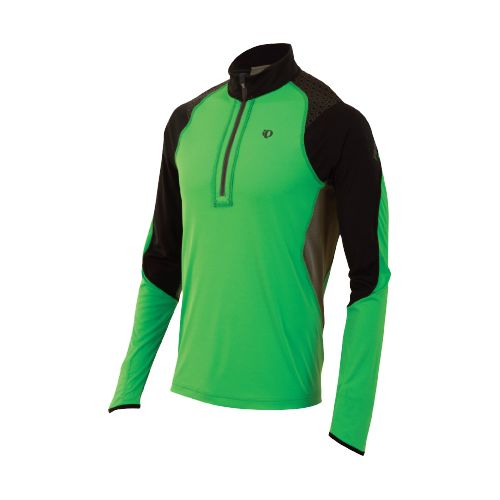Mens Pearl Izumi Ultra Inside-Out Long Sleeve 1/2 Zip Technical Tops - Fairway L
