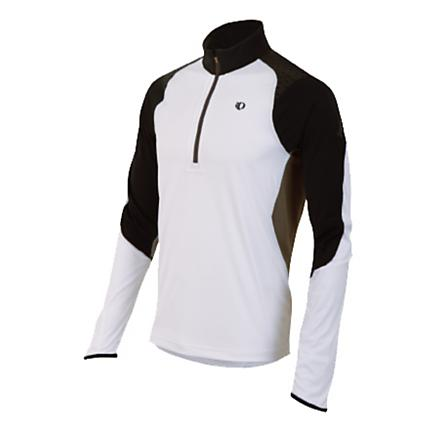 Mens Pearl Izumi Ultra Inside-Out Long Sleeve 1/2 Zip Technical Tops