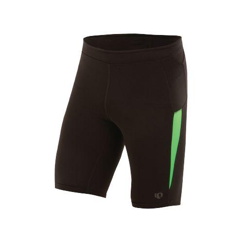Mens Pearl Izumi Ultra Short Tight Fitted Shorts - Black/Fairway XL