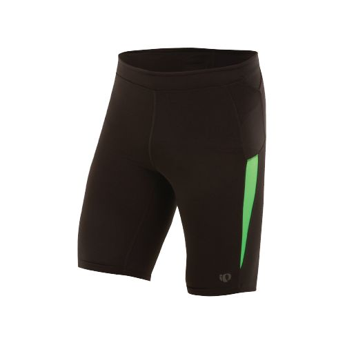 Mens Pearl Izumi Ultra Short Tight Fitted Shorts - Black/Fairway XXL