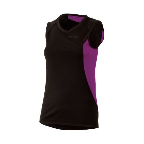 Womens Pearl Izumi Ultra Inside-Out Singlet Technical Tops - Black/Orchid S