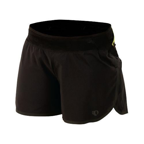 Womens Pearl Izumi Ultra Splits Shorts - Black XS