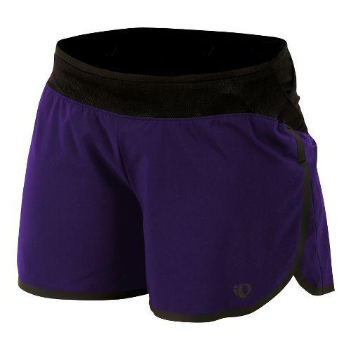 Womens Pearl Izumi Ultra Splits Shorts - Blackberry L